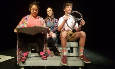 image Junior High One Act Play students compete at Gregory Portland HS