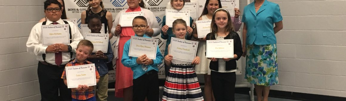 Flour Bluff ISD 2018 Students of Character