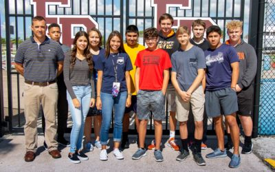 Flour Bluff Sports Information & Marketing Students